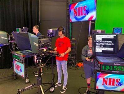 Northwest High School Produces Daily Newscast with AK-UC3000 4K/HD Cameras