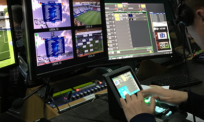 UEFA delivers the world's first UHD IP remote production trial, in conjunction with SAM and Gearhouse Broadcast