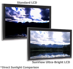 DISPLAY DEVICES INTRODUCES THE BRIGHTEST LCD DISPLAY IN THE WORLD