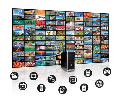 Why is the network better than HDMI splitters and matrix switcher for video walls