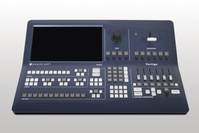 Analog Way announces the Vertige™, a new Remote Control Console designed for Analog Way's latest generations of Mixers/Seamless Switchers