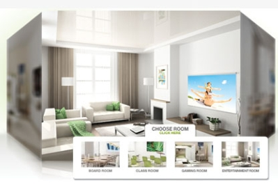 CASIO LAUNCHES VIRTUAL ROOM EXPERIENCE FOR  GREEN SLIM PROJECTORS