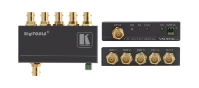 Kramer introduces a 1:5 3G HD-SDI Distribution Amplifier