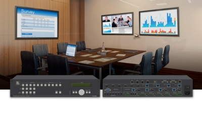 Kramer Introduces New Powerful 11x4 Presentation Scaler/Matrix Switcher