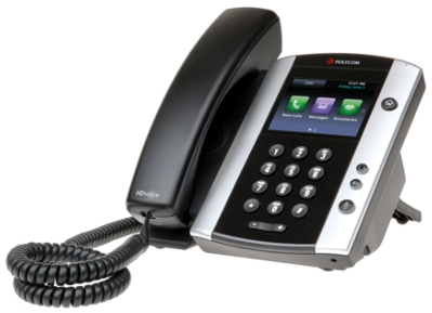 Polycom Offers New High-Quality Business Phone with One-Touch Access to Multimedia Features,Including Streaming Video & Web Content