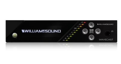 New from Williams Sound: The WaveCAST Dante Assistive Listening System