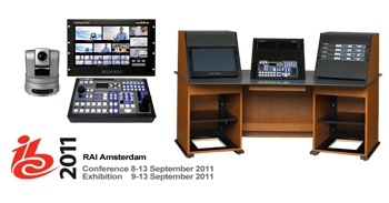 Vaddio Previews HD/HD-SDI Camera Controllers with Multiviewer Capabilities at IBC 2011