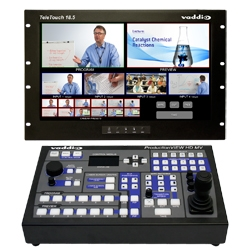 Vaddio Launches ProductionVIEW HD MV Camera Control Console with Multiviewer, Digital Outputs and Touch Screen Control