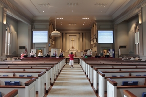First Presbyterian Church Chooses Vaddio PTZ Camera System