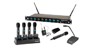 Enhanced Digital Wireless Microphone System from ClearOne Incorporates Built-In Dante™ Audio Over Ethernet