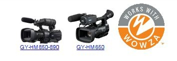 JVC PARTNERS WITH WOWZA TO DELIVER INTEGRATION BETWEEN STREAMING ProHD CAMCORDERS, WOWZA STREAMING ENGINE