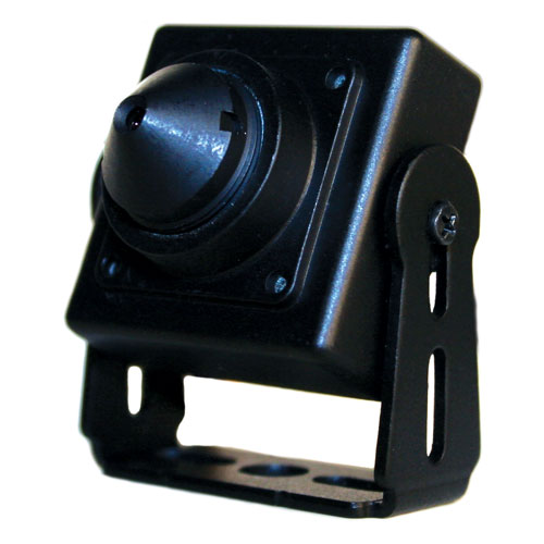 6404 | 560TVL Flush Mount Mini Pinhole Camera with 5 5mm P4 Lens