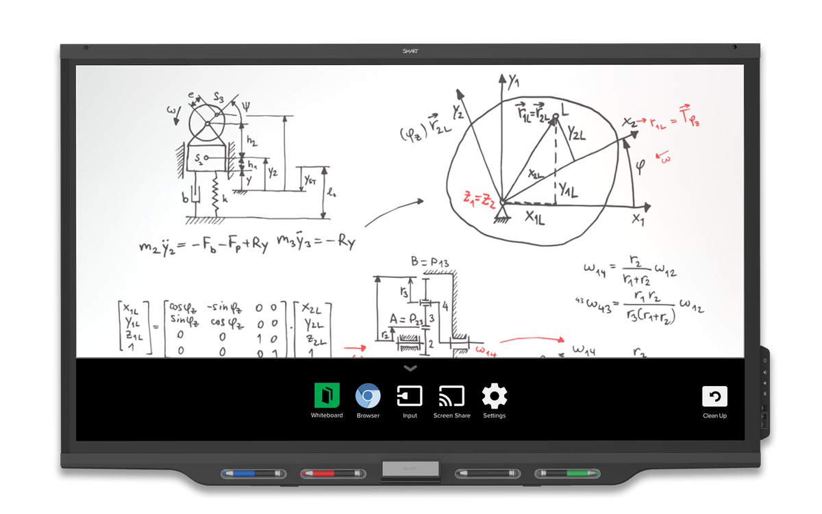 Sbid 7275p Smart Board 7000 Series Interactive Display With Iq And Orion Bms Wiring Diagram Meeting Pro 75 4k Ultra Hd Technologies Av