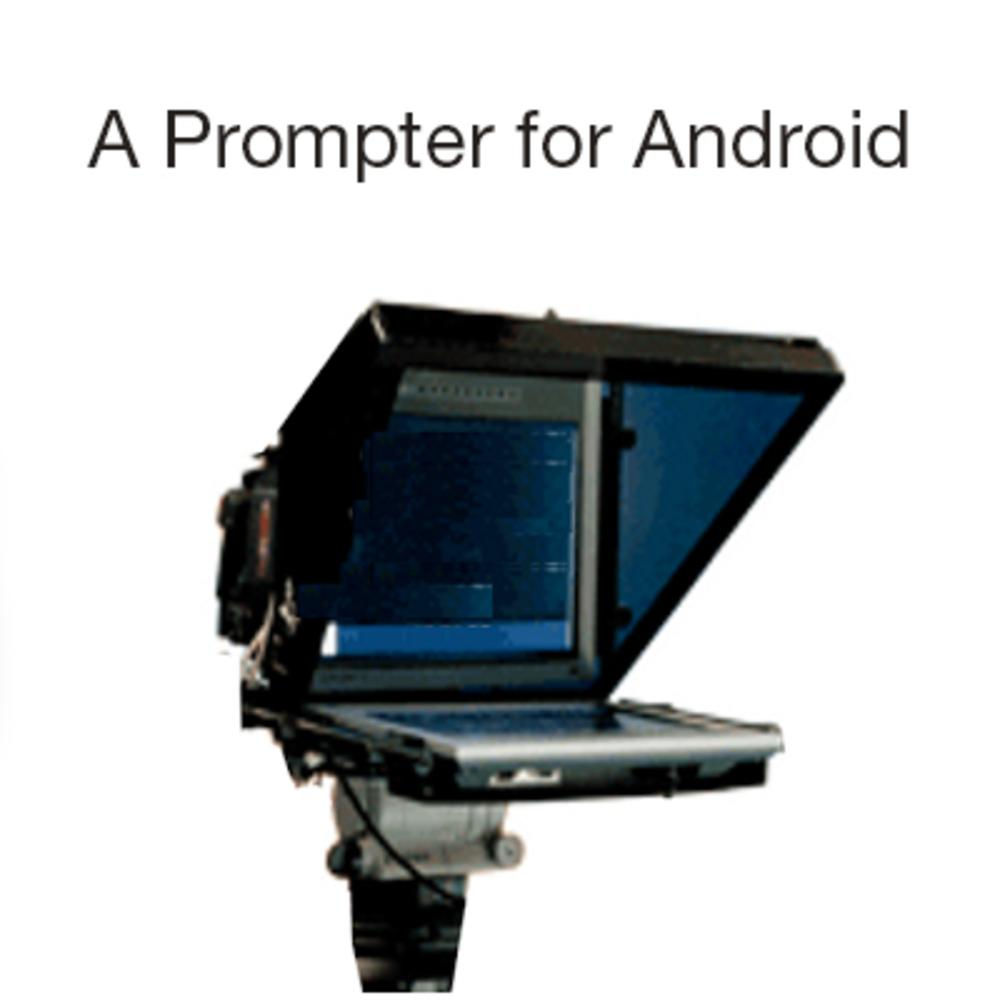 A Prompter for Android   Teleprompter App for Android   ikan