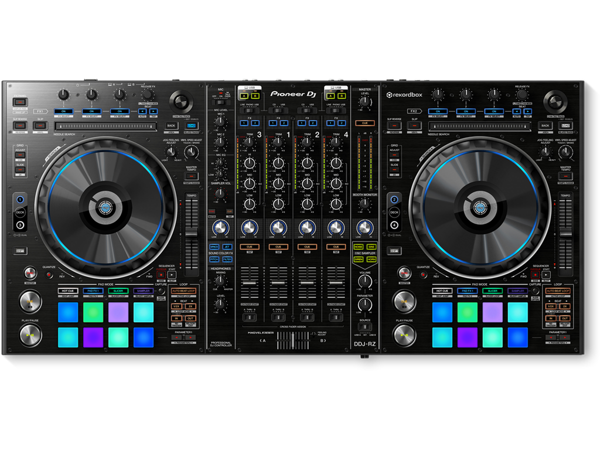 DDJ-RZ | 4-channel Flagship Controller for Rekordbox DJ | Pioneer ...