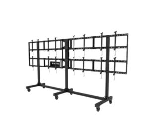 DS-C555-4X2 | Portable Video Wall Cart 2x2, 3x2 or 4x2