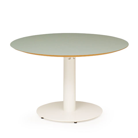 EDUKS Circle Cafe Table D X H Standing Height - Standing cafe table