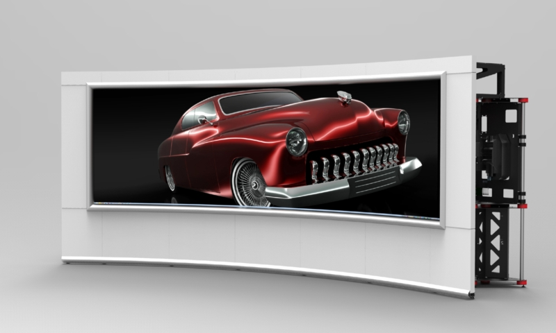 OSV-350C | 5MP Seamless Curved Collaboration Video Wall