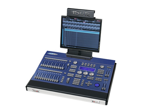P8724-GST | 1024-channel Lighting Control Console with