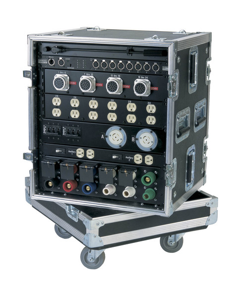 Compact And Affordable Power Distribution Rack With Heavy Duty Ata Style Enclosure