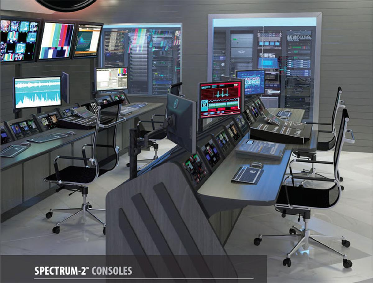 Spectrum 2 Production Control Room Console Winsted