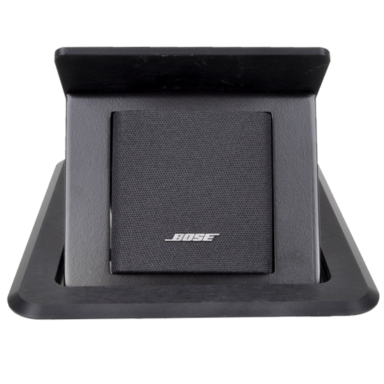 TBBOSEBLK Tilting Table Box For Bose Acoustimass Speaker Black - Av table box