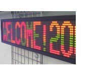 TFS-16X64-50 | Two-line Large Pitch Semi-outdoor Message Display, 10