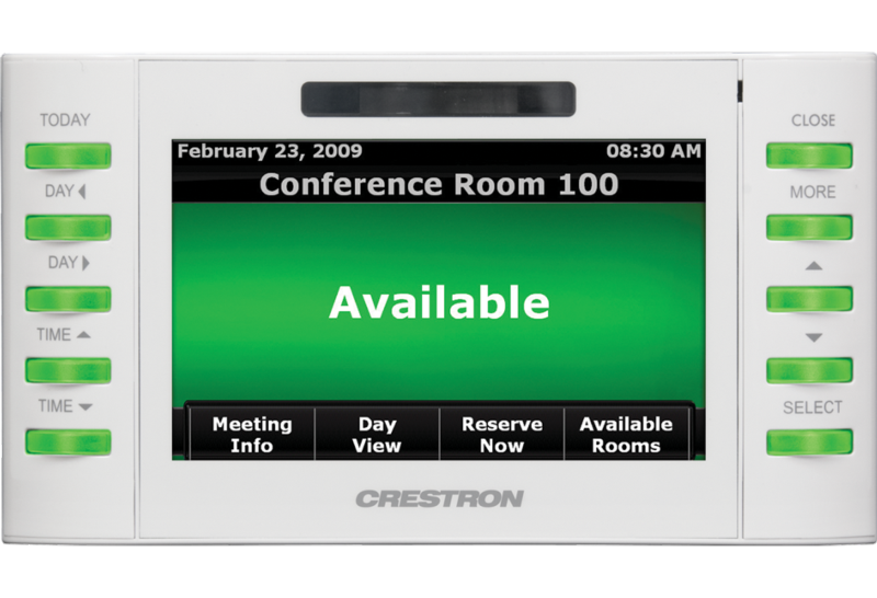 Tpmc 4sm 4 3 Quot Room Scheduling Touch Screen Crestron