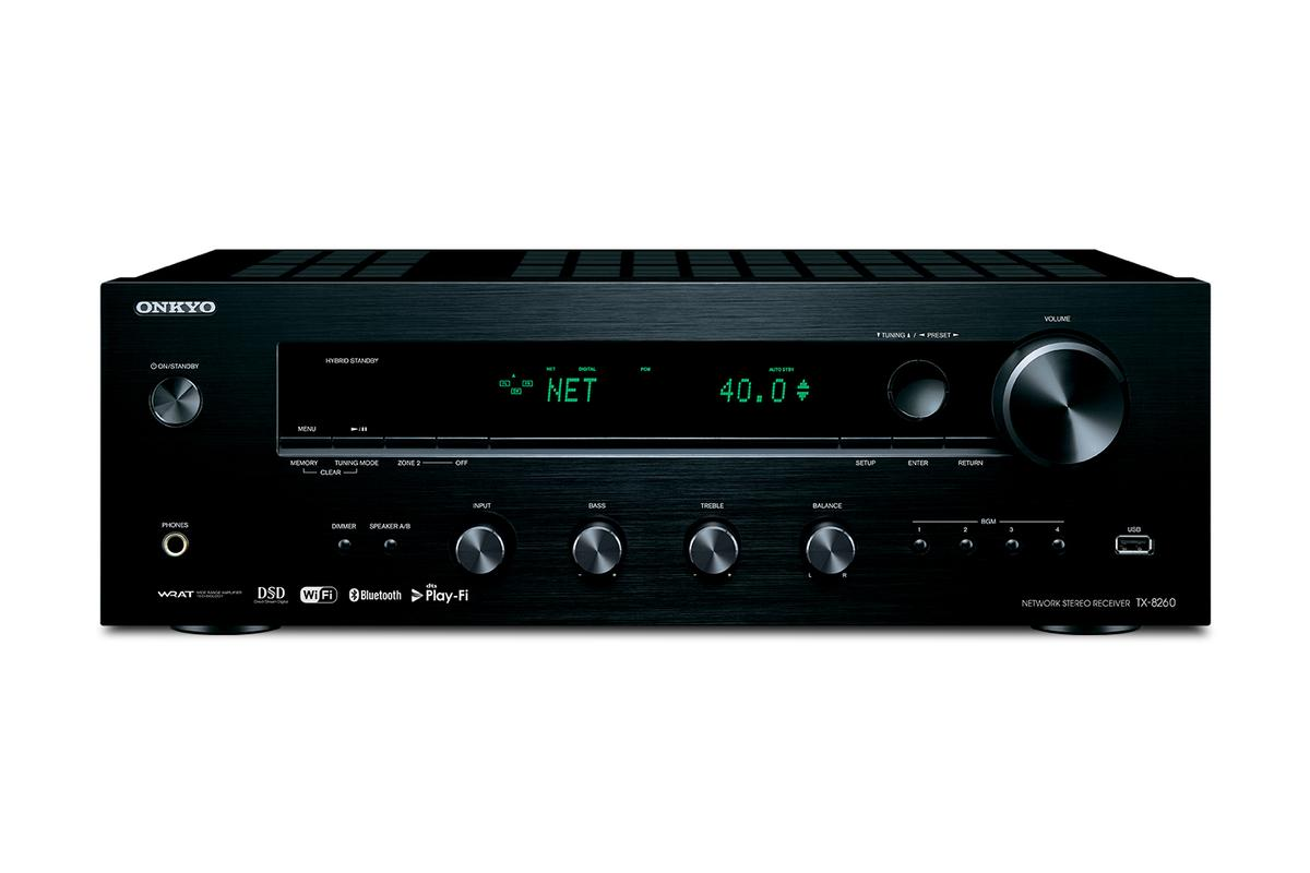 TX-8260 | 80W/Ch 8Ohms Network Stereo Receiver with Built-in