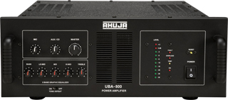 UBA-500DP | PA Amplifier + Digital Player : DJ Amplifier + Digital