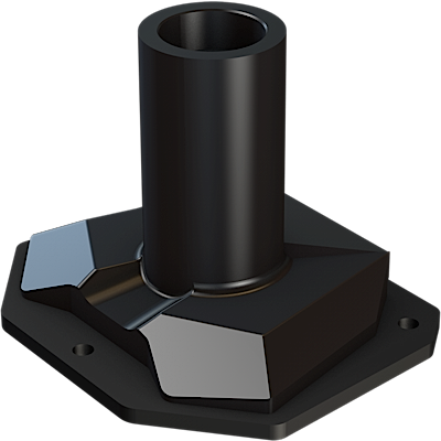DSAF | Through-hole assembly for DSA Series monitor arms