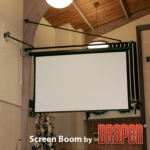 Draper, Inc. - Screen Boom