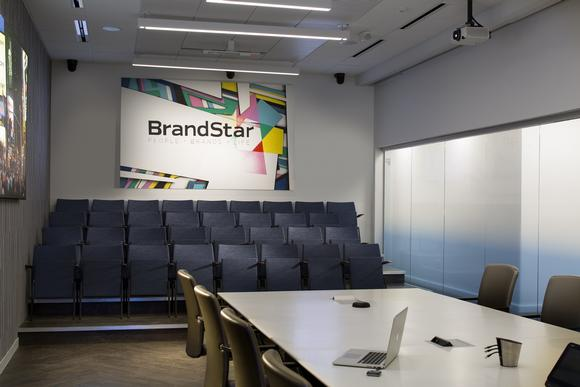 Barco connects people and information across the enterprise at new BrandStar headquarters
