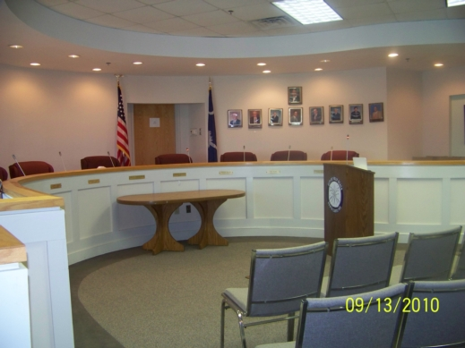City Council Chambers of Folly Beach