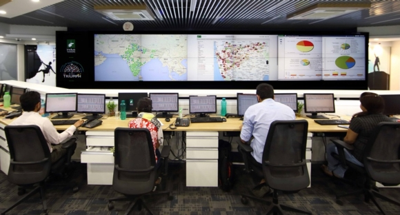 Barco - Indus Towers, Gurgaon, India - Keeping an all-seeing eye on India's telecom infrastructure
