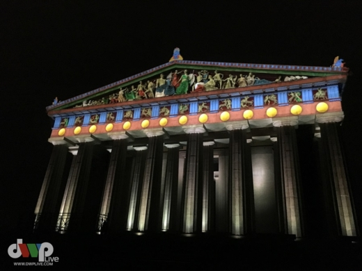 Barco - Nashville Parthenon shines brilliantly in original colors
