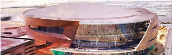 Sharp Plays a Part in Construction of Arena Project