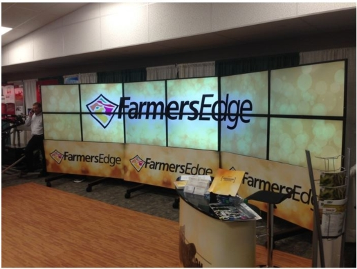 Traveling Tradeshow Video Walls Grab Attention