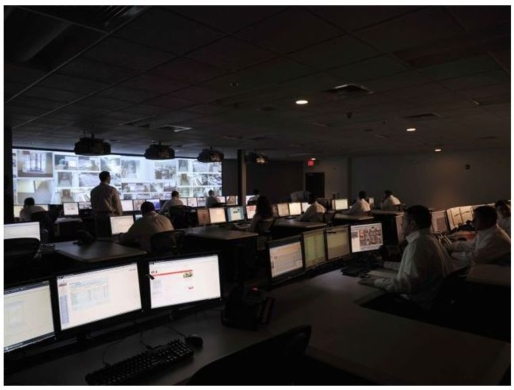 WINSTED CONSOLES ADD WOW FACTOR TO G4S MONITORING & DATA CENTER