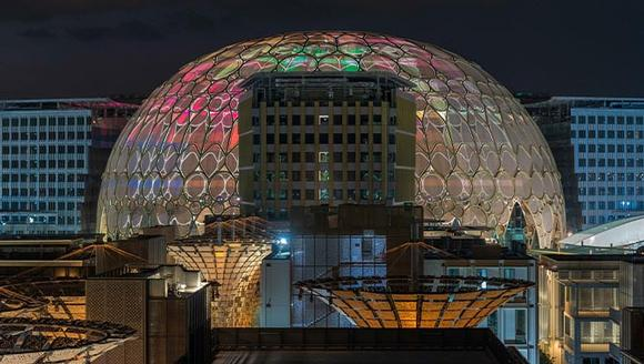 252 Christie projectors envelop Al Wasl dome in light