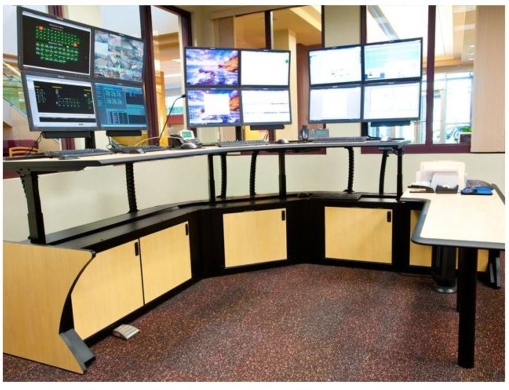 CONNEXUS ENERGY DISCOVERS THE ERGONOMIC BENEFITS OF SIT/STAND CONSOLES