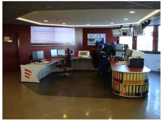 AN ENERGIZED CONTROL ROOM