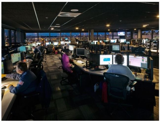 DELTA AIRLINES UPGRADES GROUND CONTROL CENTER IN MINNEAPOLIS