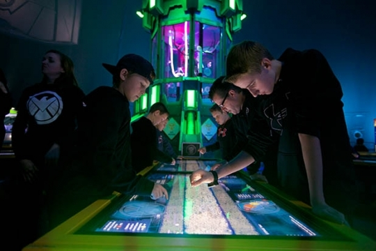 CyberTouch MultiTouch at The Marvel Experience