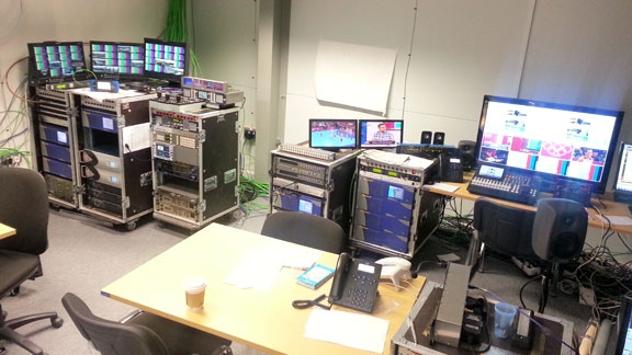 Ensemble Gear Plays Key Role in Turkish Radio and Television's Coverage of Summer Games