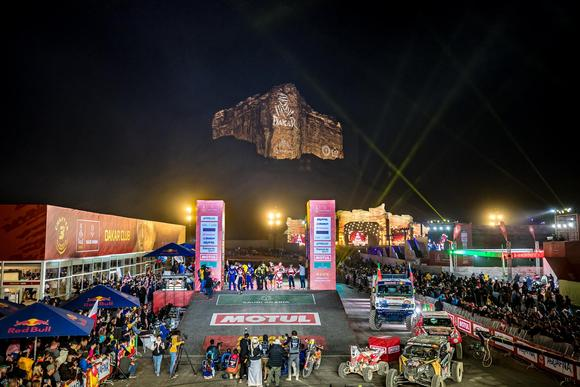 A Mind-Blowing Finale of Dakar 2020 at Qiddiya