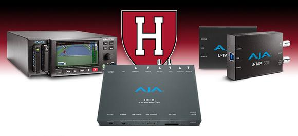 Harvard University Athletics Raises the Streaming Bar for College Sports with AJA Gear