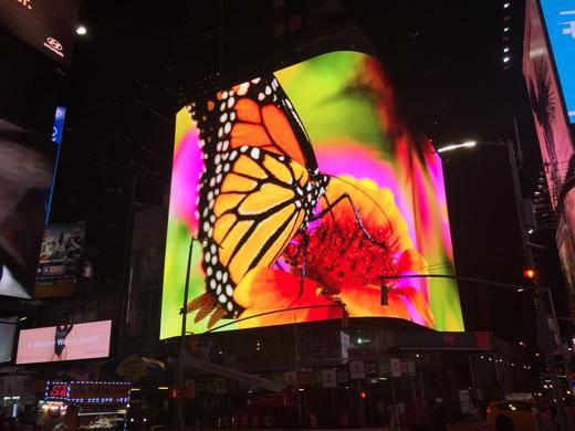 Analog Way Partners with SNA Displays to Drive the Highest-Resolution LED Screen in Times Square