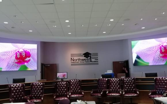 Northwest ISD Council Chamber Upgrade