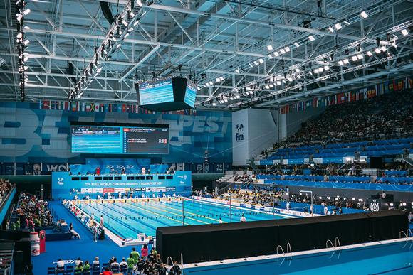 Analog Way AV Processors Manage LED Screens at the 17th FINA World Championships in Budapest